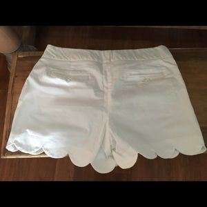 crown & ivy Shorts - Crown and Ivy white shorts